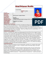 KNU Executive Committee Member Mahn Nyein Maung -Profile Update on March 9 2012