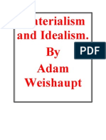 28008829 Materialism and Idealism by Adam Weishaupt English