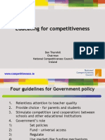 Education for Competitiveness