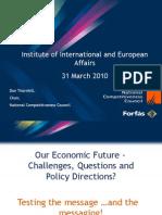 Our Economic Future Challenges