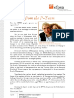Efpsa Newsletter March 2010