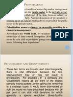 Privatisation+B.E