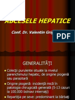 Curs - Abcese Hepatice