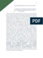 Estatuto Associação Cigana
