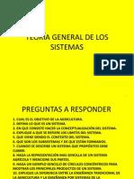 TEORÍA GENERAL DE LOS SISTEMAS - APUNTES