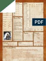 Fantasy Craft Variant Sheet Color v1.2 Fillable