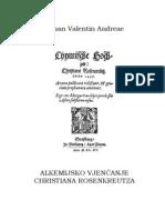 Alkemijsko Vjenčanje Christiana Rosenkreutza