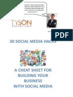 30 Social Media Hacks