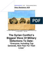 Military Resistance 10C6 Generals Fear for Their Lives[1]