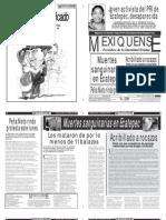 Versión impresa del periódico El mexiquense 12 marzo 2012