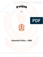 Punjab Industrial Policy 2009