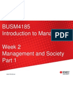 2. Management and Society