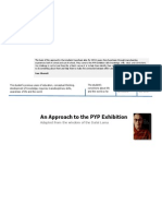 An Approach to PYP Exhibition