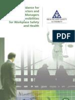 HSA Directors Responsibilities
