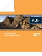 Jordan Population and Family Health Survey 2007
