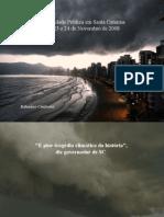 Calamidade Em Santa Catarina
