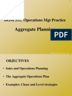 DOM 511 Aggregate Planning[1]