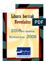 2008ko Azaroa-Noviembre