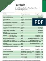 Preisliste_BSR-Hof 2011