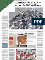 Niños del Perú se quedan sin Libros para sus Escuelas