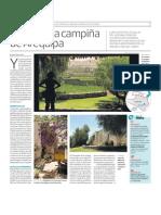 Turismo por la Campiña de Arequipa, Perú