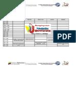 Horarios (Pnf Lic en Contaduria Trayecto 1, Trimestre 1 Febrero-mayo 2012