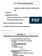 2 Regulation and Principal Financial Statements