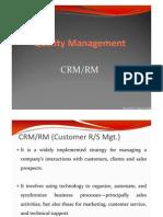 CRM RM