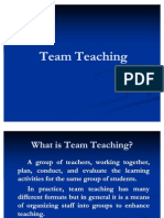 Team Teaching