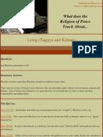 Lying Taqiyya and Kitman
