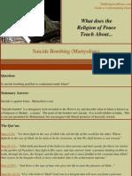 Martyrdom Suicide Attacks