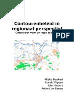 Contourenbeleid in Regionaal Perspectief - Ontwerpen Voor de Regio Waalbos