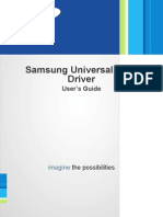 Samsung Ml-1665 User Manual - UPD_Guide_EN