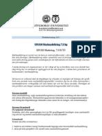 Studieanvisn. EP1320, HT11