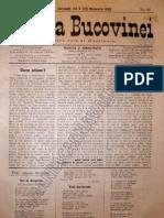 Gazeta Bucovinei # 89, Joi 9 (21) Noiembrie 1895