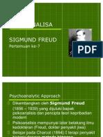 7. Psikoanalisa Freud (1)