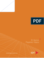 El sector papelero vasco (Es)/ The Basque paper industry (Spanish)/ Papelaren euskal sektorea (Es)