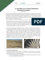 Groasis Waterboxx pruebas España agosto 2010