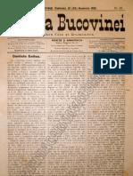Gazeta Bucovinei # 90, Duminica 12 (24) Noiembrie 1895
