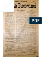 Gazeta Bucovinei # 91, Joi 14 (28) Noiembrie 1895