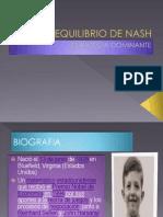 11.Equilibrio de Nash y Empresa Dominante