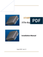 STARPLUS STSe Installation Manual