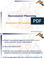 Succession Planning by Vivek