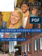 Salem College Accepted Student Guide 2012