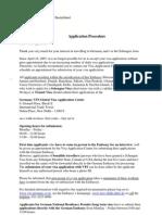 German Visa Procedure