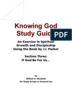 Knowing God Study Guide - Section Three