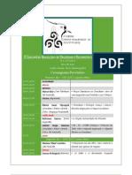 Cronograma Provisório do III EBDRC