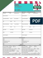 RWIF Confidential Application