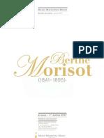 Berthe Morisot - dossier de presse