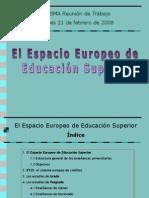 El Espacio Europeo de Educación Superior Universitaria